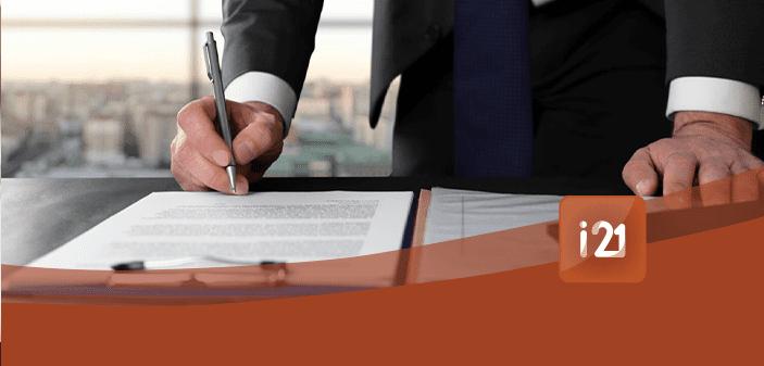 Imob Cadstro de Contratos - Cadastro de Contrato